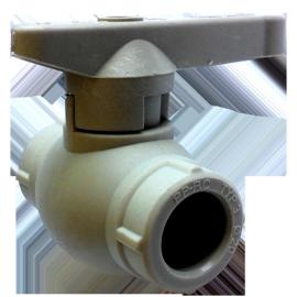 Кран шаровый PP-r Ду32 Hakan