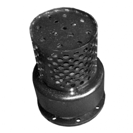 Клапан обратный приемный с сеткой фланцевый 16ч42р Ду200