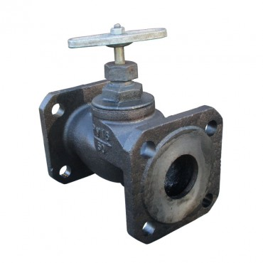 Клапан запорный фланцевый 15кч34п Ду50