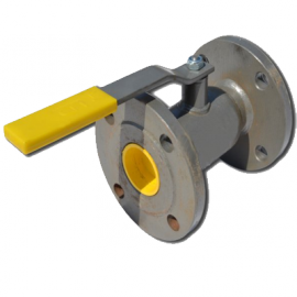 Кран шаровый стальной стандартнопроходной фланцевый LD Ду50