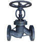 Клапан стальной фланцевый 15с65нж Ду32