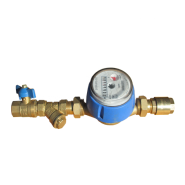 Комплект для монтажа счетчика воды Ду15