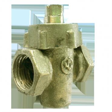 Кран пробковый латунный 11б6бк Ду25