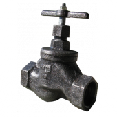 Клапан запорный муфтовый 15кч33п Ду50
