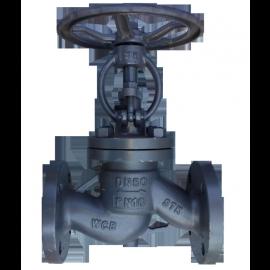 Клапан стальной фланцевый 15с65нж Ду150