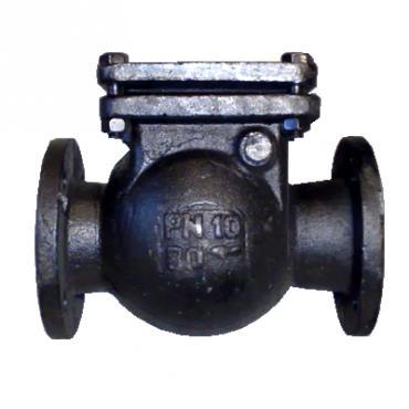 Клапан обратный 19ч16бр Ду80