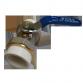 Кран шаровый латунный Ду40 к ППр трубе 50