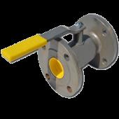 Кран шаровый стальной стандартнопроходной фланцевый LD Ду100/75