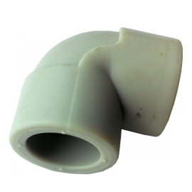 Колено (угольник) PP-r  50 90° Hakan