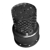 Клапан обратный приемный с сеткой фланцевый 16ч42р Ду50