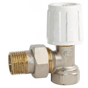 Кран радиаторный угловой верхний eco Ду15