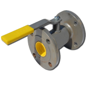 Кран шаровый стальной стандартнопроходной фланцевый LD Ду32/25