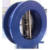 Клапан обратный двухстворчатый межфланцевый DDSCV-16 Ду150