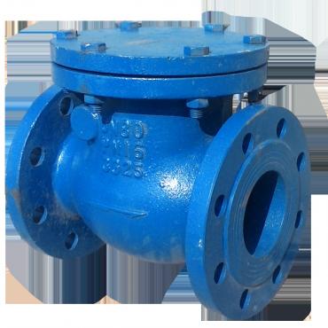 Клапан обратный поворотный фланцевый CV-5153-16F Ду150