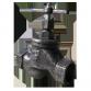 Клапан запорный муфтовый 15кч33п Ду40 Украина