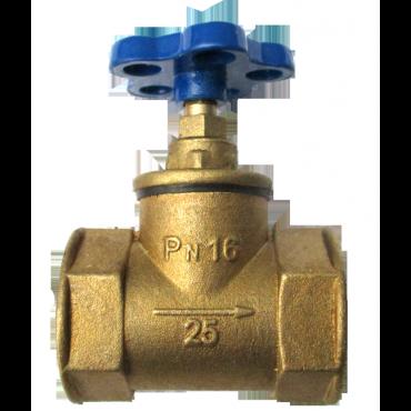 Клапан муфтовый 15б3р Ду25