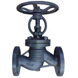 Клапан стальной фланцевый 15с65нж Ду200