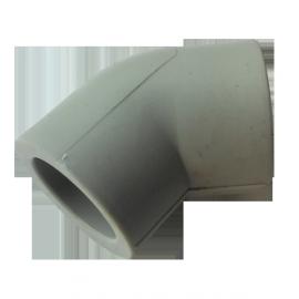 Колено (угольник) PP-r 20 45° Hakan
