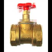 Клапан запорный муфтовый 15б1п Ду50