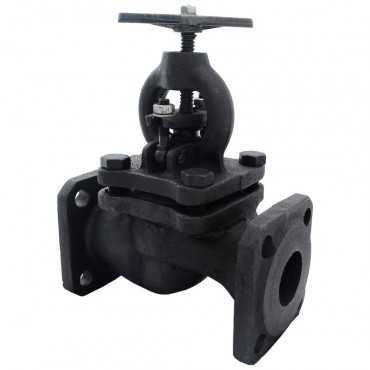 Клапан запорный фланцевый 15кч16п1 Ду32