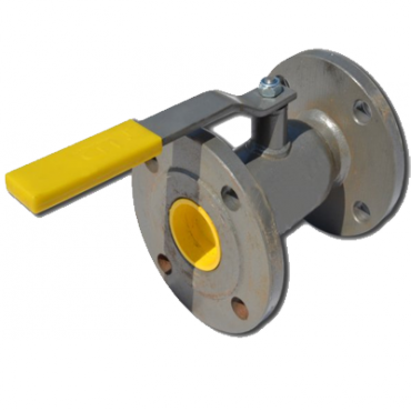 Кран шаровый стальной стандартнопроходной фланцевый LD Ду15