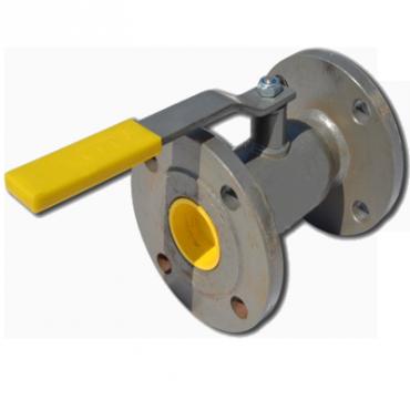 Кран шаровый стальной стандартнопроходной фланцевый LD Ду20/16