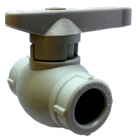 Кран шаровый PP-r Ду63 Hakan