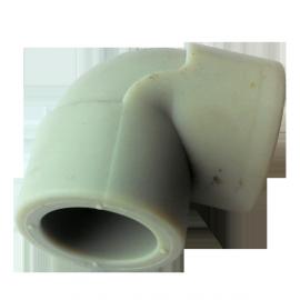 Колено (угольник) PP-r  75 90° Hakan