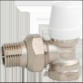 Кран радиаторный угловой нижний gross Ду15
