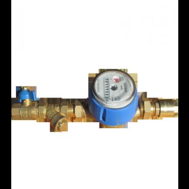 Комплект для монтажа счетчика воды Ду25