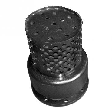 Клапан обратный приемный с сеткой фланцевый 16ч42р Ду400