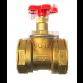 Клапан запорный муфтовый 15б1п Ду32