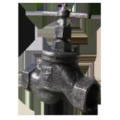 Клапан запорный муфтовый 15кч33п Ду50 Украина