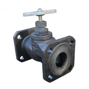 Клапан запорный фланцевый 15кч34п Ду40