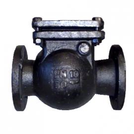 Клапан обратный 19ч16бр Ду100