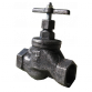 Клапан запорный муфтовый 15кч33п Ду32 Украина