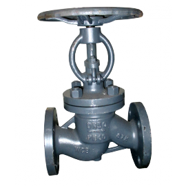 Клапан (вентиль) стальной фланцевый 15нж22нж Ду25