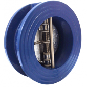 Клапан обратный двухстворчатый межфланцевый DDSCV-16 Ду80