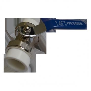 Кран шаровый латунный Ду25 к ППр трубе 32