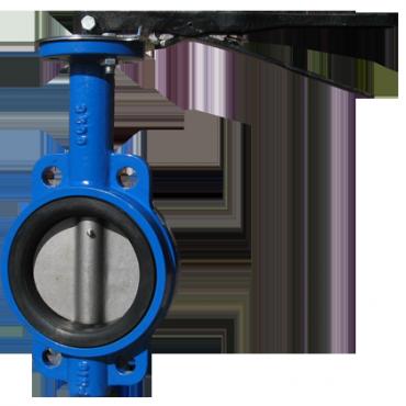"""Затвор поворотный дисковый """"Баттерфляй"""" RBV-16-10 Ду80"""