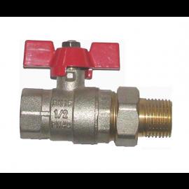 Кран шаровый с накидной гайкой (американкой) Ду32