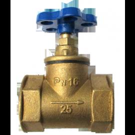 Клапан муфтовый 15б3р Ду40
