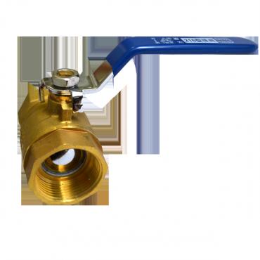 Кран шаровый латунный ВВ Ду25 Китай